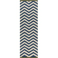 Rain Teal/Beige Indoor/Outdoor Rug