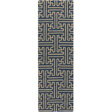 Rain Teal Indoor/Outdoor Rug