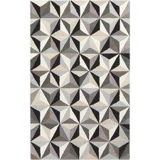 Oasis Taupe & Light Gray Geometric Area Rug