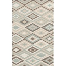 Rain Beige/Charcoal Geometric Indoor/Outdoor Area Rug