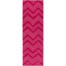 Mystique Hot Pink Area Rug