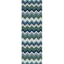 Frontier Forest Chevron Area Rug