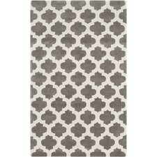 Cosmopolitan Beige/Gray Geometric Area Rug