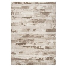 Contempo Cream Stripes Area Rug