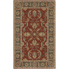 Caesar Rust Red/Kerry Blue Rug
