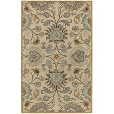 Caesar Beige/Light Blue Area Rug