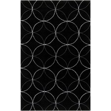 Sawyer Black Area Rug