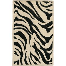 Goa Black Area Rug