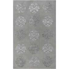 <strong>Surya</strong> Tamira Light Gray/Silver Rug