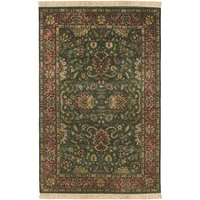 Taj Mahal Dark Forest Green Rug