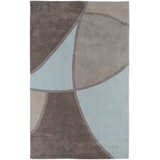 Cosmopolitan Gray & Blue Area Rug