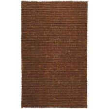 Harvest Copper Brown/Tan Solid Area Rug