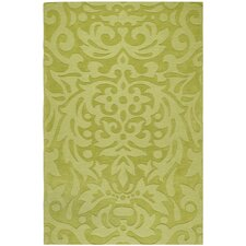 Mystique Lime Green Floral Rug