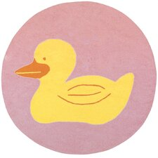Playground Light Pink Kids Rug