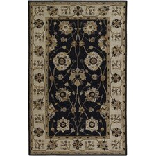 Caesar Black/Gold Rug