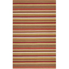 Sag Harbor Red Multi Rug