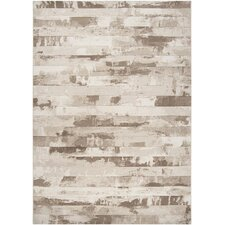 Contempo Cream Stripes Rug