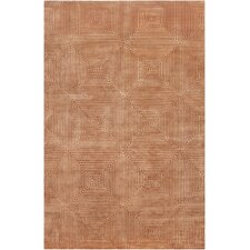<strong>Surya</strong> Luminous Rust Orange / Amber Contemporary Rug