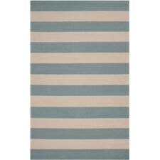 Rain Parchment/Stormy Stripe Indoor/Outdoor Rug