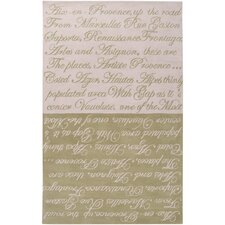 Stella Smith Olive Khaki Novelty Rug