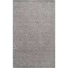 Etching Gray Area Rug