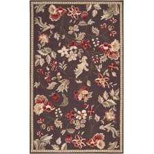 Flor Dark Chocolate Rug