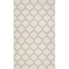 Frontier Oatmeal/White Area Rug