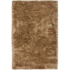 Grizzly Caramel Solid Area Rug