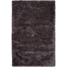 Grizzly Mauve Taupe Solid Area Rug