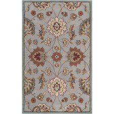 Kingston Pussywillow Gray/Army Green Rug