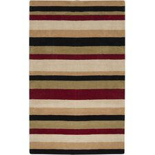 Loft Off White/Red Rug