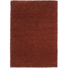 Luxury Shag Burnt Sienna/Adobe Rug