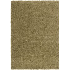 Luxury Shag Khaki Green/Lima Bean Rug