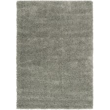 Luxury Shag Foggy Blue/Gray Sage Rug