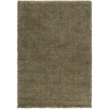 Luxury Shag Khaki Green/Foggy Blue Rug