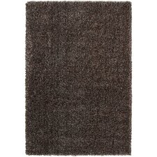 Luxury Shag Dark Chocolate/Gray Sage Rug