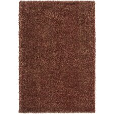Luxury Shag Sienna/Tan Rug