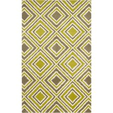 Naya Green Yellow Rug