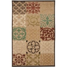 Portera Brown Sugar/Raw Sienna Rug