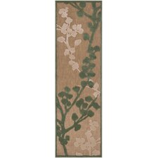 Portera Teal/Ivory Outdoor Rug
