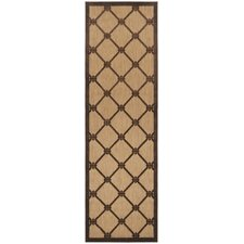 Portera Chocolate Outdoor Rug