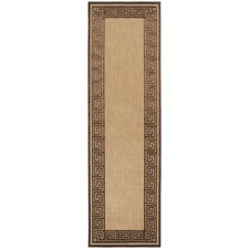 Portera Natural/Chocolate Outdoor Rug