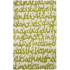 Stella Smith Apple Green Rug