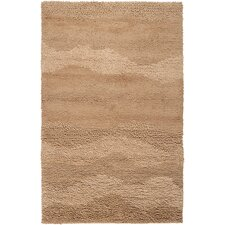 Topography Driftwood Brown Rug