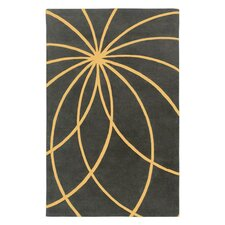 Forum Old Gold/Iron Ore Rug