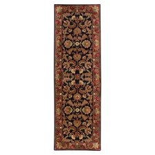 Ancient Treasures Black/Red Rug