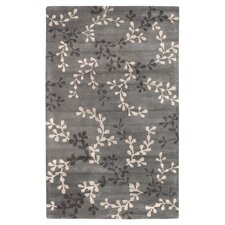 Artist Studio Vine Charcoal Gray Area Rug