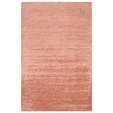 Haize Paprika Brown Solid Rug