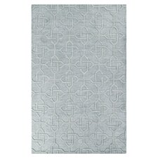 Mystique Foggy Blue Area Rug