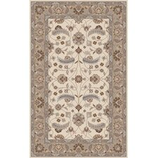 Caesar Antique White Floral Rug